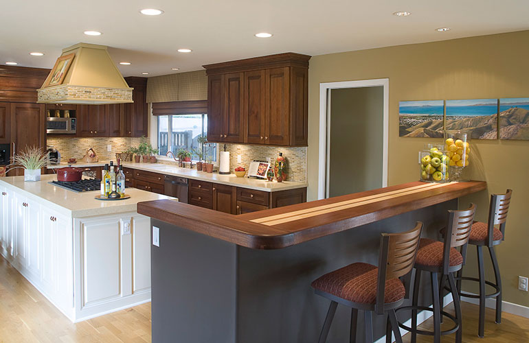 Continental kitchen designs breakfast kitchen caribbean for Caribbean kitchen design ideas