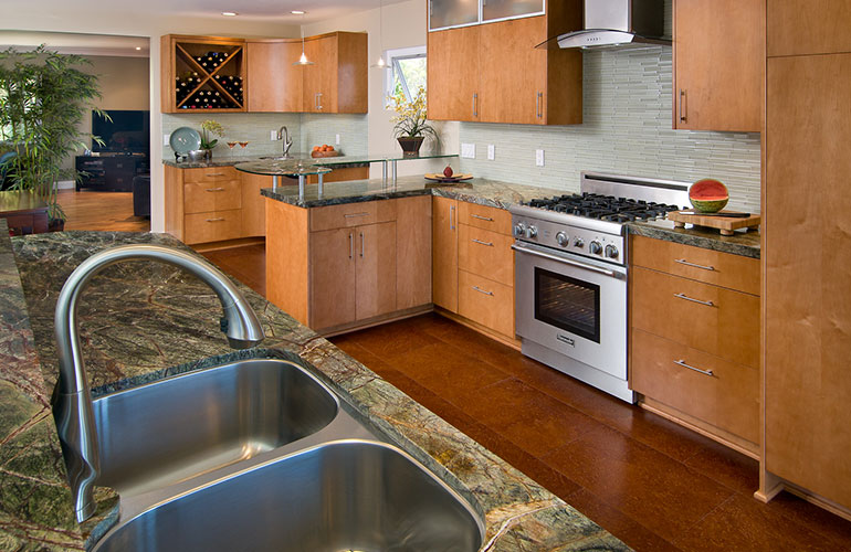 Custom kitchen bath design by kitchen places in ventura ca for Bath remodel ventura